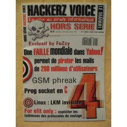 Magazine hackerz voice n°4...
