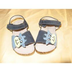 sandale enfant taille 23 bleue